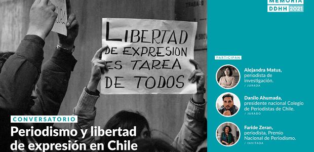 Museo de la Memoria y Colegio de Periodistas lanzan 6° versión del Premio Periodismo con conversatorio virtual sobre libertad de expresión en Chile
