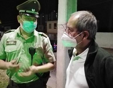 Diputado Moraga denuncia intervención dirigida de Carabineros para interrumpir caravana de cierre de campaña del PC en Iquique