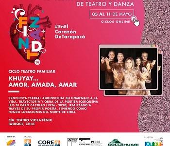 """La obra """"Khuyay… Amor, Amada, Amar"""" dará inicio a la segunda temporada de Festi TeatroZoom, de FINTDAZ"""