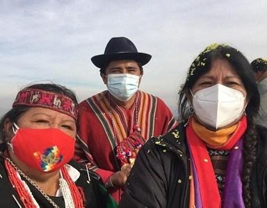 En el cerro Chena, lugar sagrado y donde se vulneraron los DDHH en dictadura, se realizó  ritual ancestral aymara