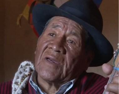 Fallece cultor tradicional aymara Eugenio Challapa. Fue compositor del tema Tata San Juan popularizado por  inti-illimani
