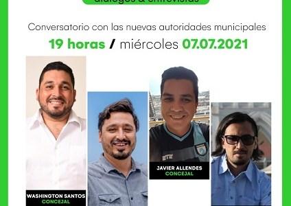 """Cuatro nuevos ediles participan en Conversatorio """"Construyendo Ciudad"""", transmitido en vivo por Edición Cero"""