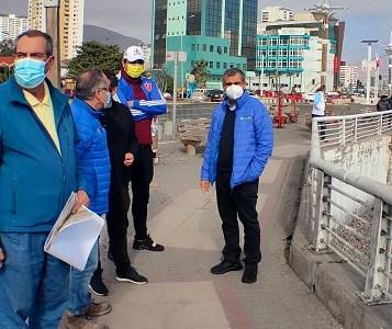 Acogiendo aspiración de la comunidad, Municipalidad de Iquique presenta propuesta para recuperar la Playa Bellavista