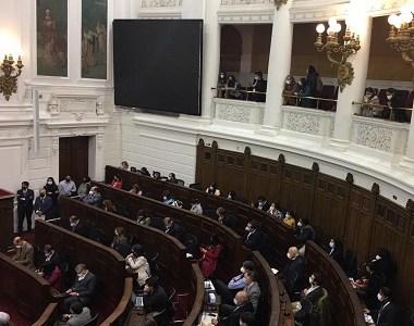 Molestos reaccionaron CC Alejandra Flores, Hugo Gutiérrez y Wilfredo Bacián por suspensión de sesión. Responsabilizan al Gobierno
