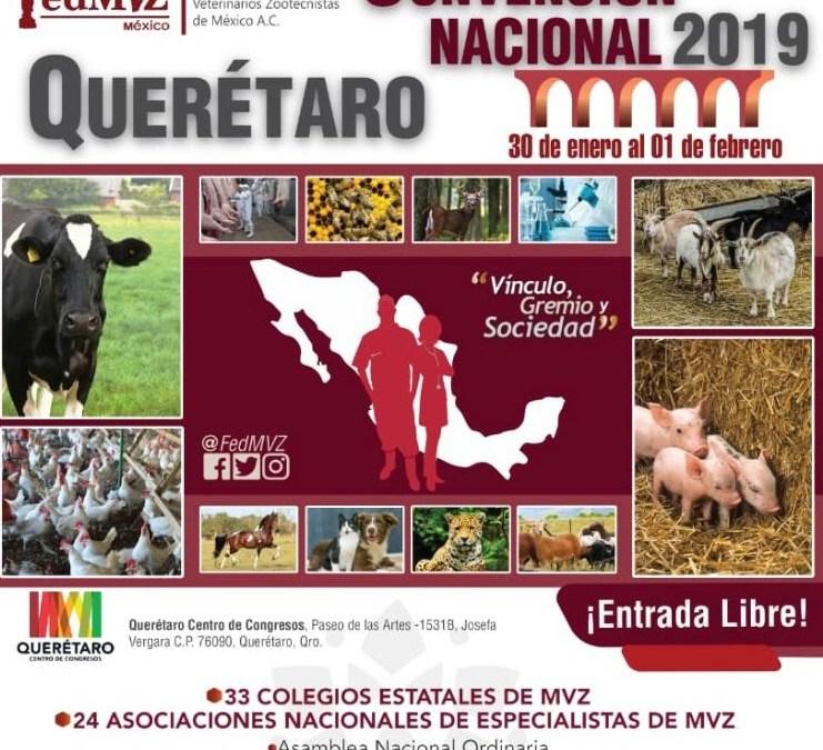 Si eres profesional del sector veterinario y zootécnico la cita es en Querétaro a fin de mes