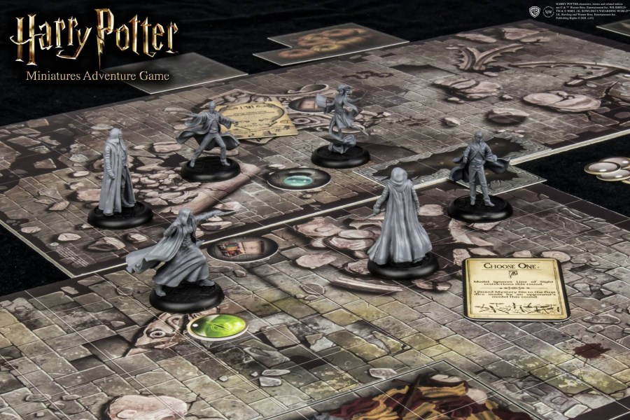 HARRY POTTER  MINIATURES ADVENTURE GAME Gioco da Tavolo   Edicollector HARRY POTTER  MINIATURES ADVENTURE GAME