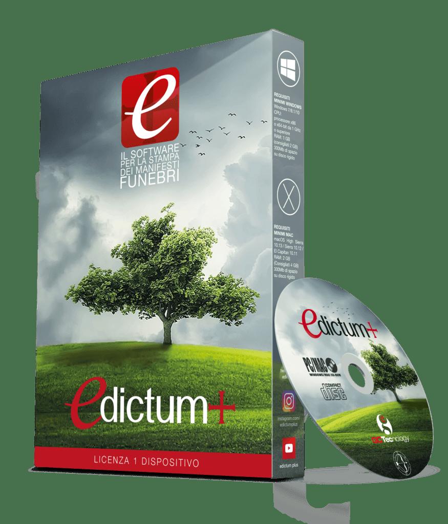 Edictum Il Software Per La Stampa Dei Manifesti Funebri