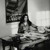 Susan Sontag, year unknown