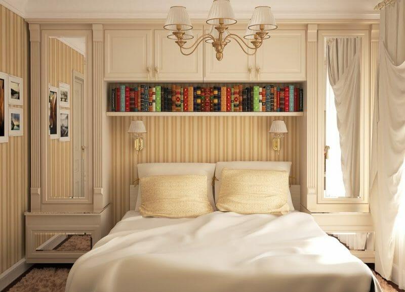 incadrarea mobilierului in dormitor mic