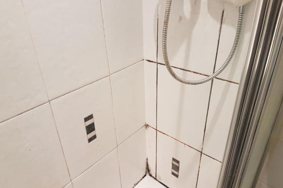 Shower Grout During Restoration in Edinburgh