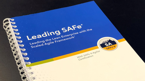 Leading SAFe course training material.