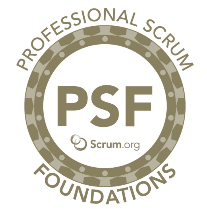 Scrum.org PSF Badge