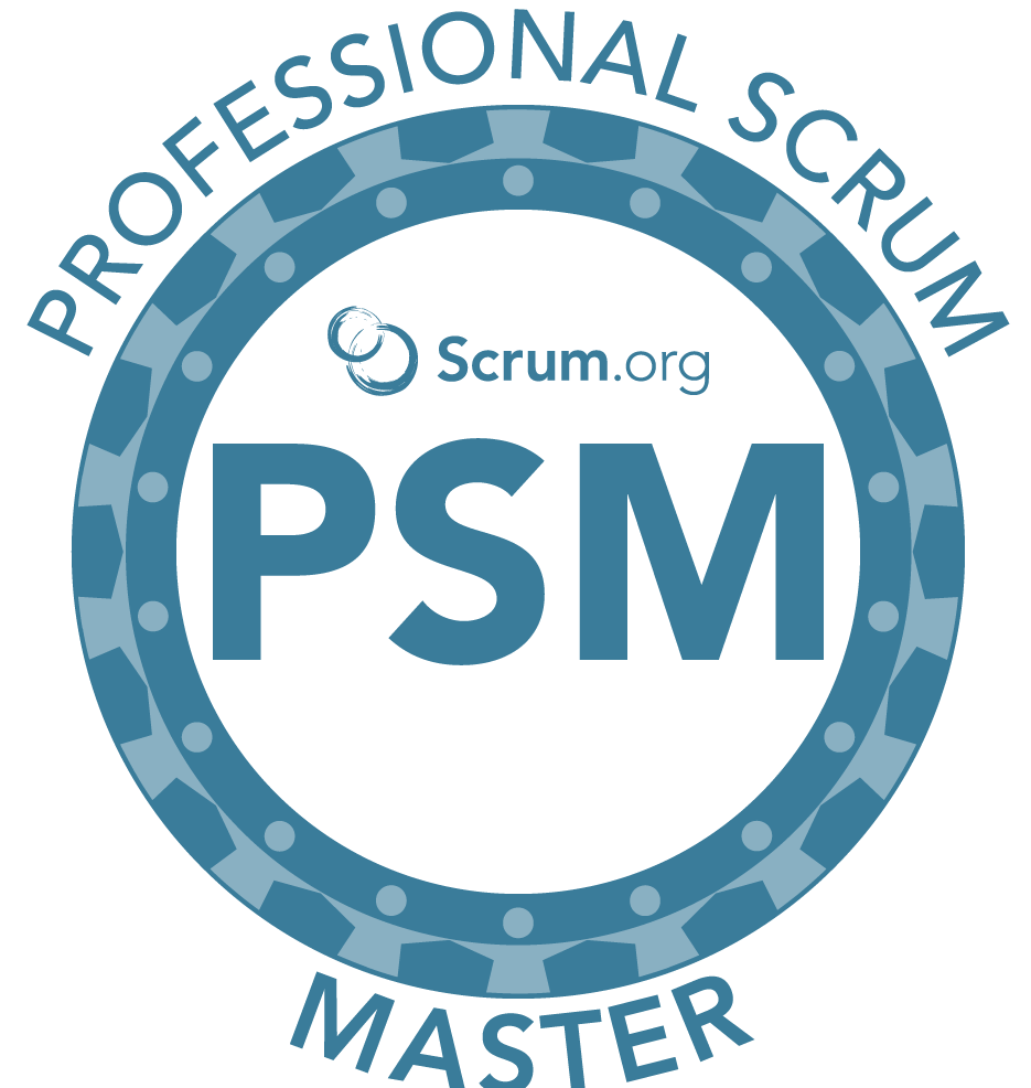 Scrum.org PSM Badge