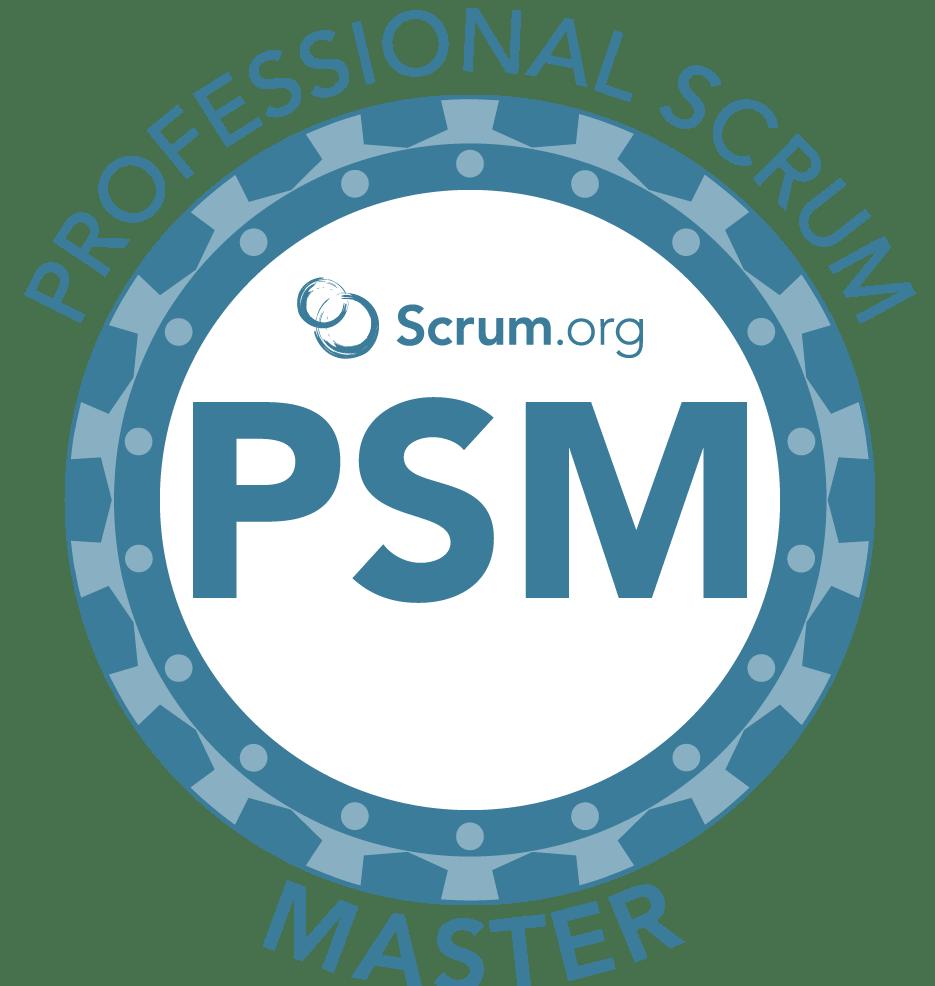 Scrum.org PSM Badge