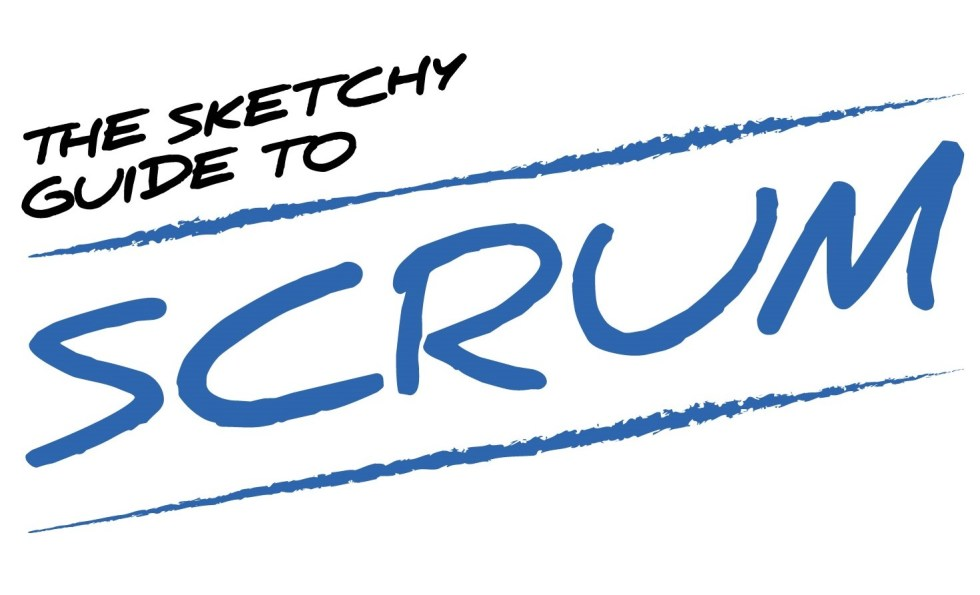 The Sketchy Guide to Scrum Logo