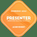 Presentation Excellence Masterclass - Presenter Achievement