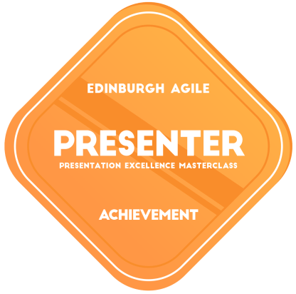 Presentation Excellence Masterclass - Presenter Achievement