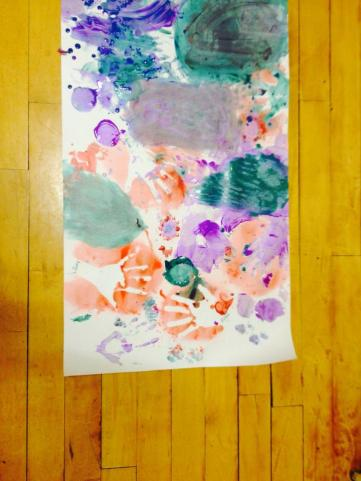 Cave painting - Blackhall Rainbows