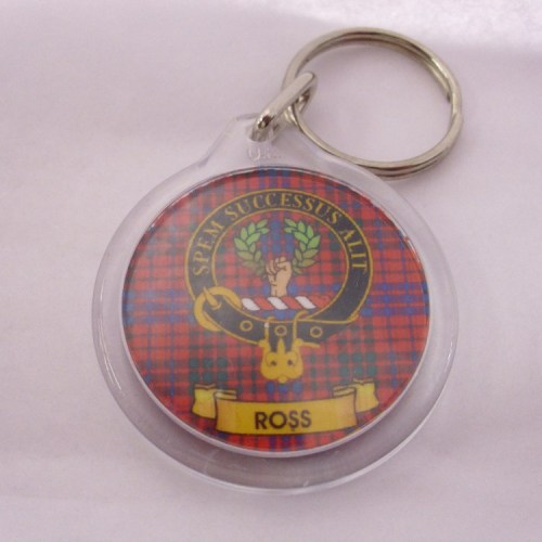 Clan Crest Key Rings