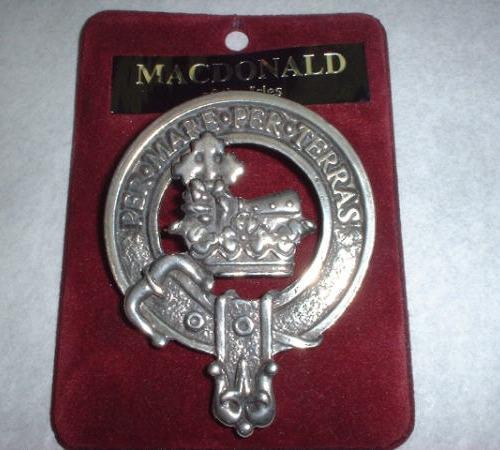 Clan Crest Cap Badges Mac
