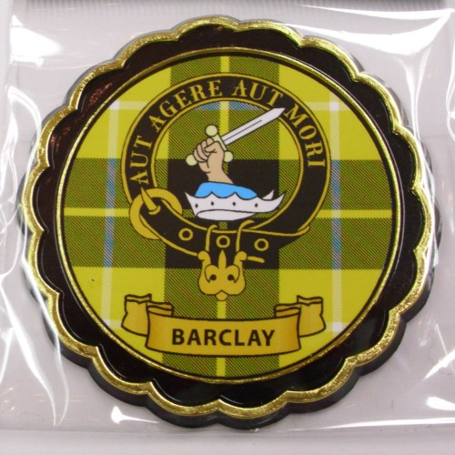 Clan Crest Fridge Magnet A to D