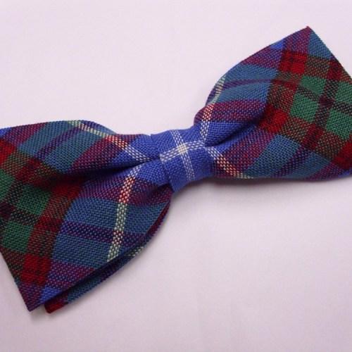Tartan Bow Tie and Cummerbund