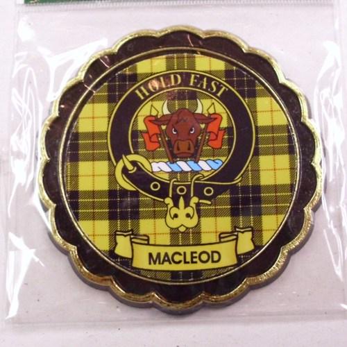 Clan Crest Fridge Magnet Mac Names