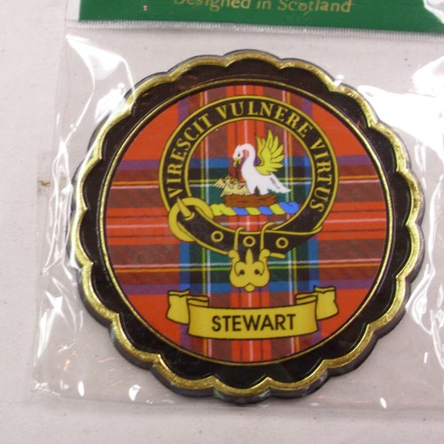 Clan Crest Fridge Magnet M to Y