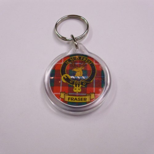 Clan Crest Key Rings F to L