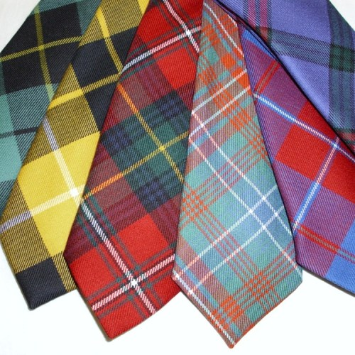 Scottish Tartan Ties