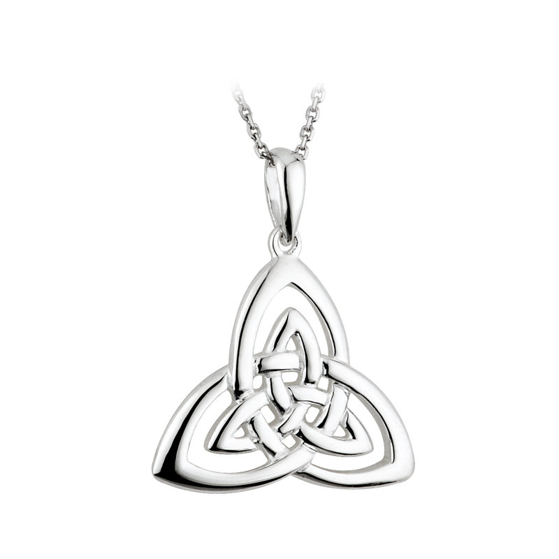 Silver Trinity Knot Pendant