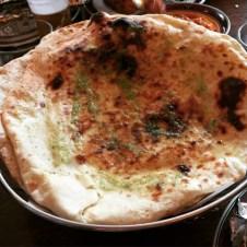 Garlic pitta - Mother India