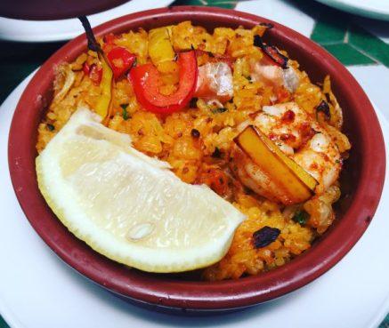 Paella Valenciana - Cafe Andaluz