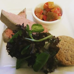 Chicken liver and pancetta parfait - No 11