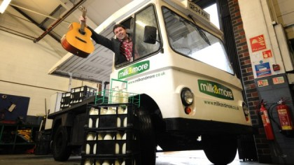 Paul and his Milk Float
