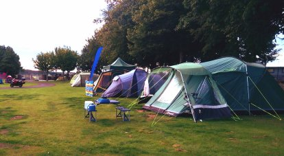 Bring your own tent camping area
