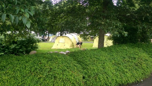 What a perfectly pitched tent!