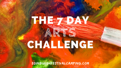 the-7-day-artchallenge-edinburgh-festival-camping