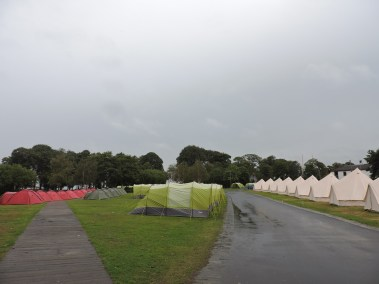 The Pre-Pitched and Bell Tent Village at Edinburgh Festival Camping