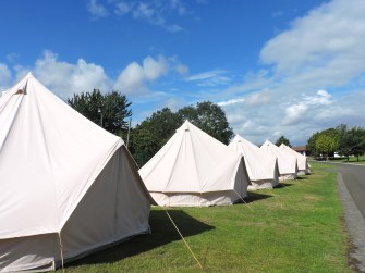 Bell Tents for up to 6 guests at Edinburgh Festival Camping