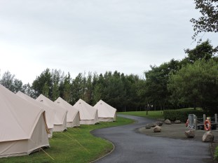 Two Person Bell Tents at Edinburgh Festival Camping