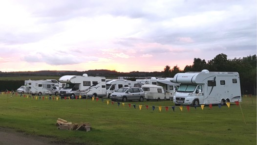 Motorhomes in the Meadow