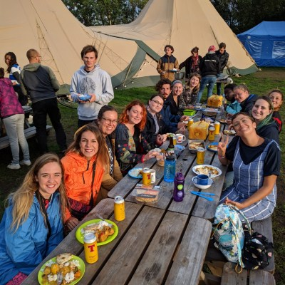 Edinburgh Festival Camping volunteers 2018