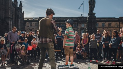 Kids at Edinburgh Festivals