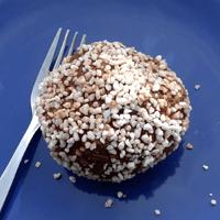 Chocolate ball, super-sized