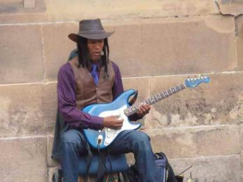 Singing the blues at Edinburgh Fringe