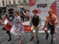 Singing and Dancing at the Edinburgh Fringe