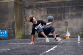 Edinburgh Fringe by Val Saville and Derek Howden 46