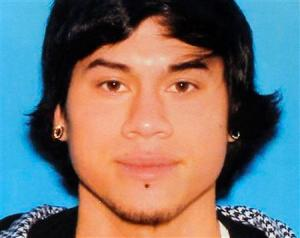 Police handout photo of suspect from Tuesday's shooting in Happy Valley, Oregon (Clackamas County Sheriff's Office)