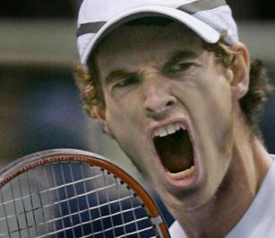 A classic Andy Murray winning pose